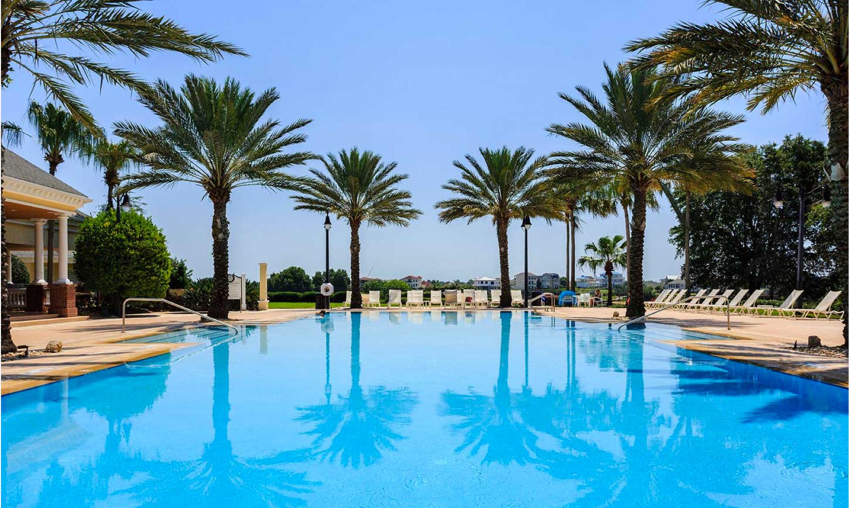 Beautiful pool at Reunion Resort