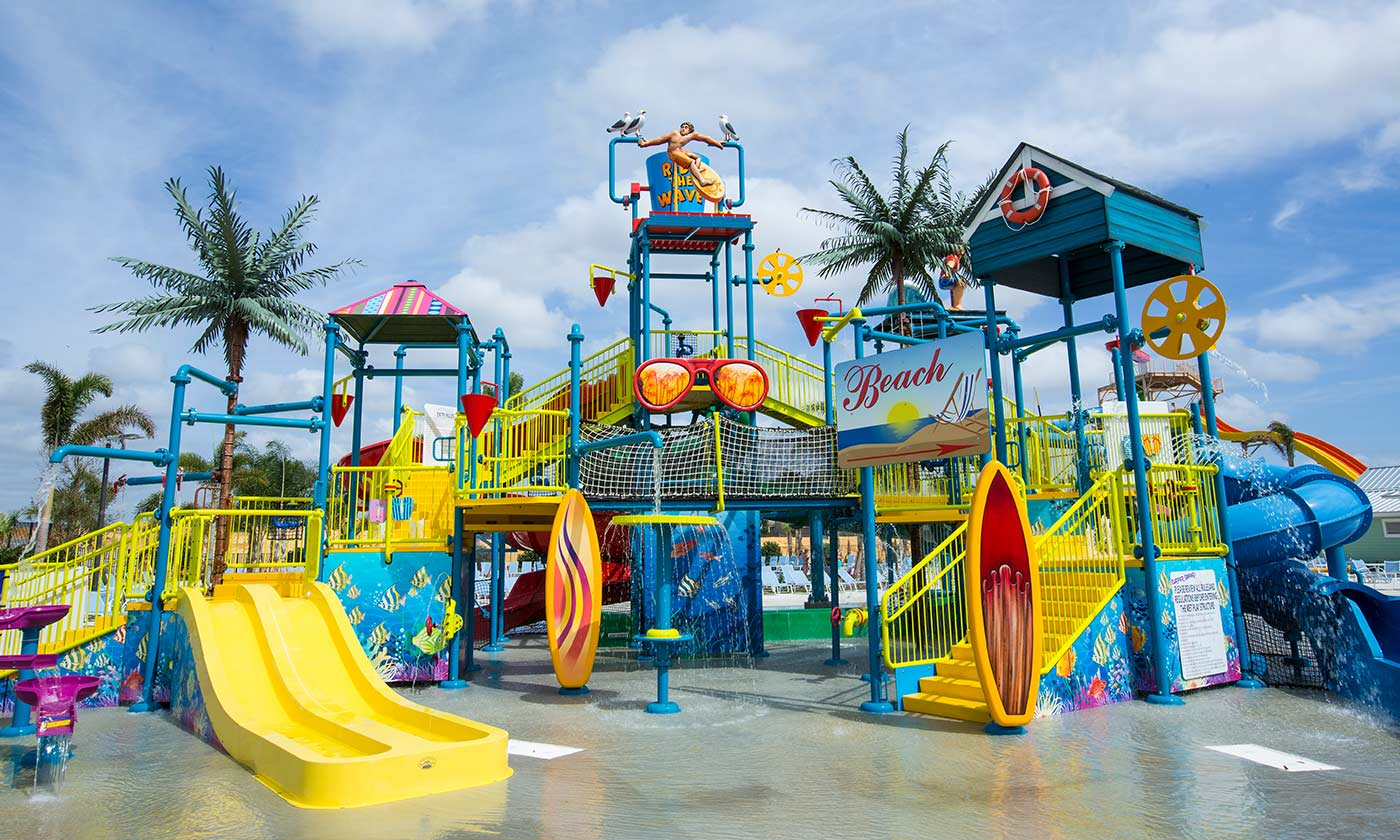 Kids waterpark at Encore Resort