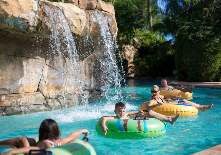 Lazy River and Waterslide