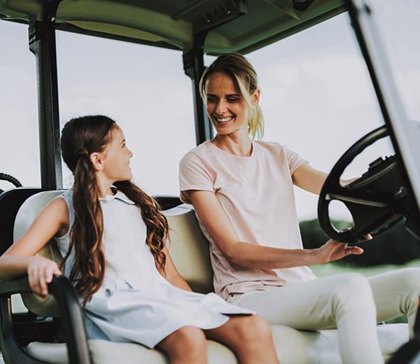 Reunion golf cart rental