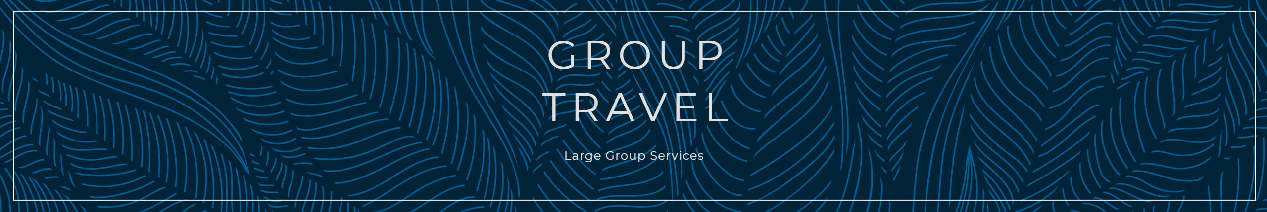 Jeeves Group travel banner