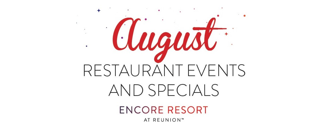 Encore Aug events updated