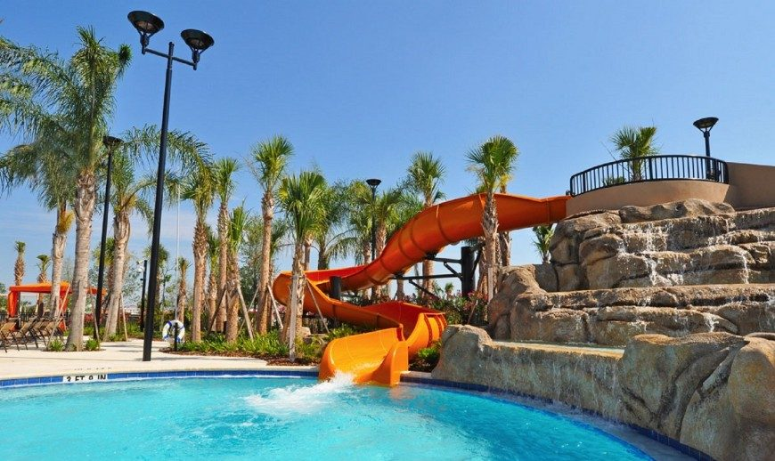 Solterra Waterpark Slide